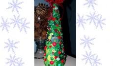 Φτιάξε χριστουγεννιάτικα στολίδια με απλά υλικά