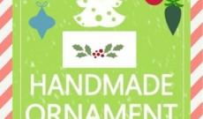 Φτιάξτε τα δικά σας  Χριστουγεννιάτικα στολίδια