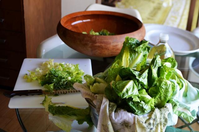 Λιβανέζικη σαλάτα με Fattoush