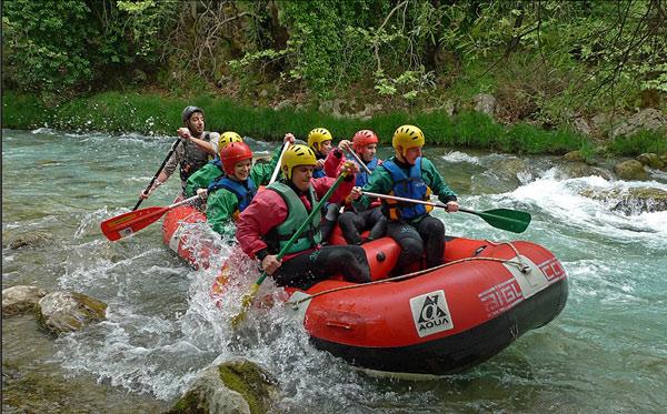 Λούσιος (Rafting (ράφτινγκ)