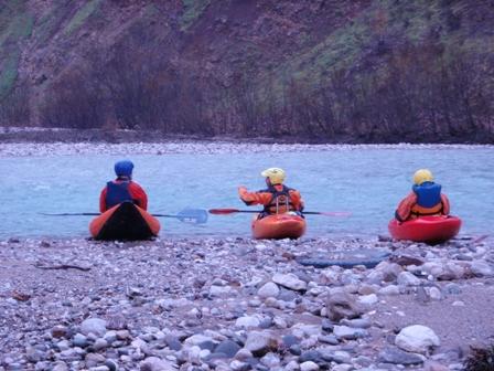 Kayak wildwater