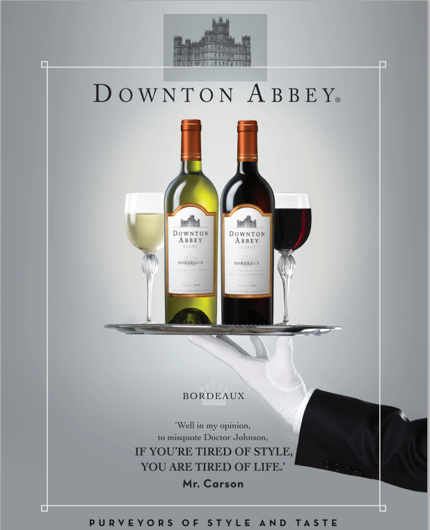 the downton abbey wine