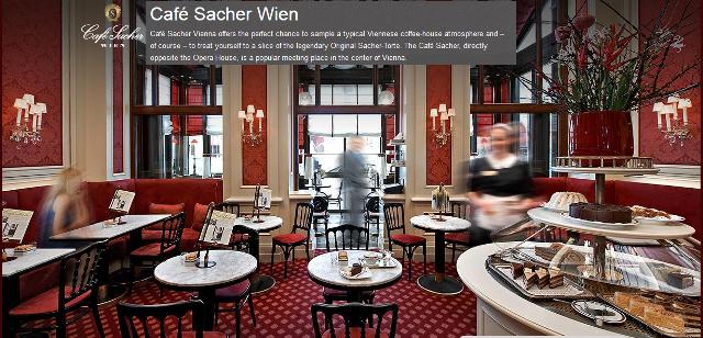 Café Sacher Βιέννη