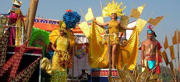 Goa- India-carnival