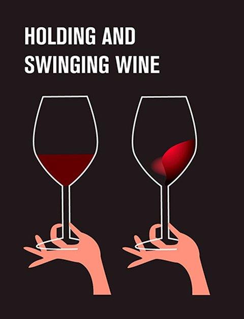 wine swilling