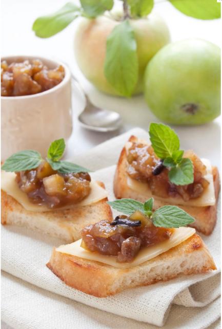 Chutney (τσάτνευ) με μήλα