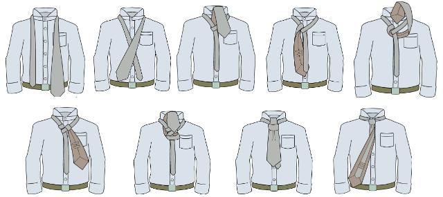 δέσιμο γραβάτας