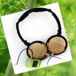 ακουστικά μπαμπού