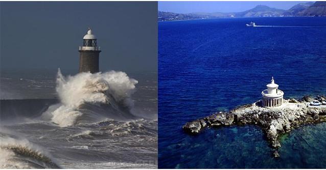 ελληνικοί φάροι και ελληνικες θάλασσες