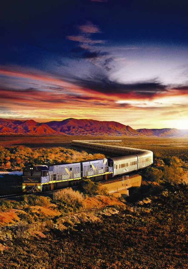 οργανωμένα ταξίδια με τρένο