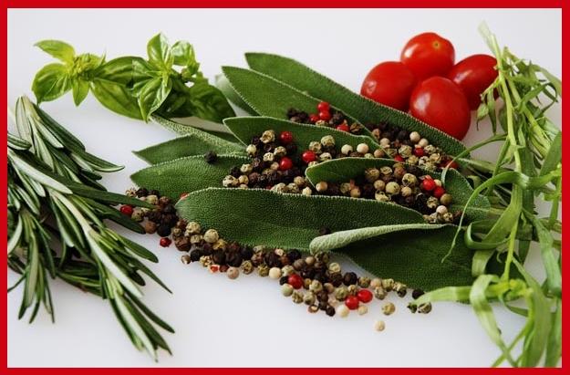 μπαχαρικά και βότανα