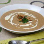 γρήγορη συνταγή για μανιταρόσουπα βελουτέ