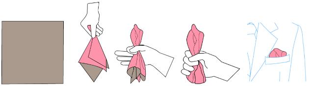 μαντήλι στο πέτο