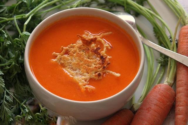 γρήγορη συνταγή για Σούπα βελουτέ καρότο